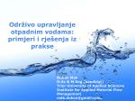 Održivo upravljanje otpadnim vodama: rješenja i