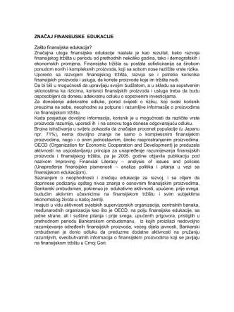 Bankarski proizvodi i usluge - Bankarski Ombudsman Crne Gore