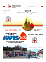 Glasnik GDCK - Crveni Križ Grada Zagreba
