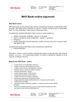 BKS Bank-online sigurnost