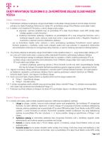 Uvjeti korištenja usluge Cloud Nadzor vozila - T-com