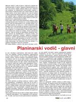 Planinarski vodič – glavni i odgovorni krivac za sve