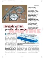 Metode zaštite plovila od korozije