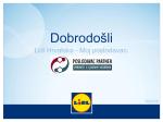 Dobrodošli - Lidl Hrvatska
