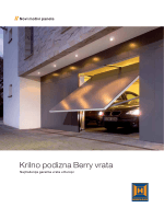 Krilno podizna Berry vrata - Garažna vrata