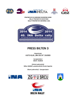 press bilten 3 - 40.ina delta rally