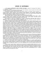 Izvod iz zapisnika sa 10. sjednice Općinskog vijeća