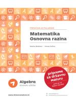 Demo poglavlje - Pripreme za državnu maturu | Algebra