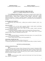 1 Didaktički putokazi Didactic Guideposts UPUTSTVO ZA PISANJE I