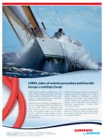 LANEX, jedan od vodećih proizvođača jedriličarskih konopa u