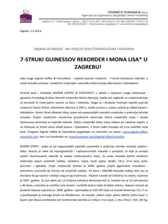 7-‐struki guinessov rekorder i mona lisa* u zagrebu!