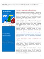 Novosti u Programu ruralnog razvoja BILTEN BROJ 11