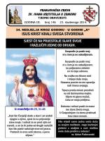 Tjedni listić br. 146 - samostan sv. ivana krstitelja zemun