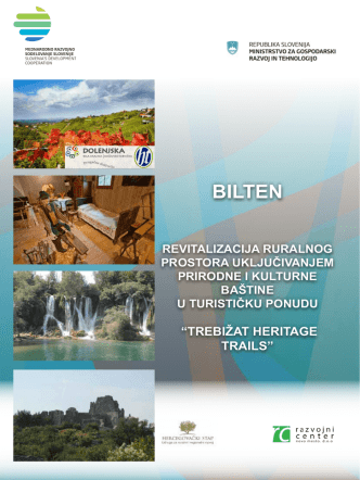 BILTEN - Razvojni center Novo mesto