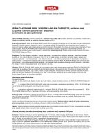 Karta danych technicznych - IRSA Lackfabrik Irmgard Sallinger GmbH