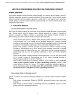 Upute za podnošenje zahtjeva za financijsku pomoć