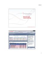 Primakonova metodologija implementacije Primavere