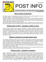 ispis - Hrvatski sindikat pošte