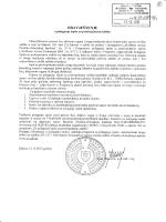 obavještenje o polaganju ispita za protivpožarnu zaštitu