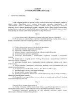 Zakon o Visokom obrazovanju Republike Srpske
