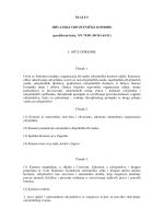 Statut HOK - Hrvatska odvjetnička komora