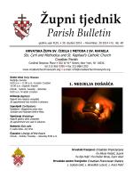 Župni tjednik - www.croatianchurchnewyork.org