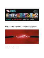EMC* zaštita kabela i kabelskog pribora