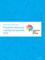 pravilnik - Sportske igre mladih