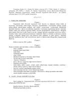 Statut HNK Rovišće