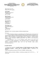 Poziv za dostavu ponuda – hotelske usluge