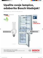 Upalite svoje lampice, odaberite Bosch hladnjak!