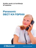 Panasonic DECT KX-TGP500