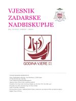 vjesnik 5-6 2013 - Vjesnici Zadarske nadbiskupije