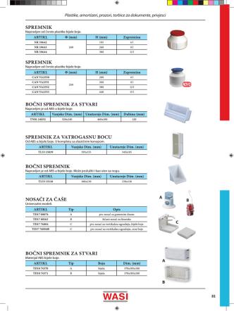 bočni spremnik bočni spremnik za stvari spremnik za vatrogasnu