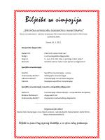 Bilješke sa simpozija