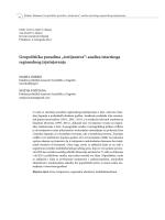 """""""istrijanstva"""": analiza istarskoga regionalnog izjašnjavanja"""