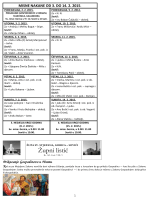 Župni listić od 03.02. do 14.02.2015 Br.162