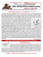 ŽUPNI LISTIĆ (br. 23/239) - Župa Svetog Antuna Padovanskog