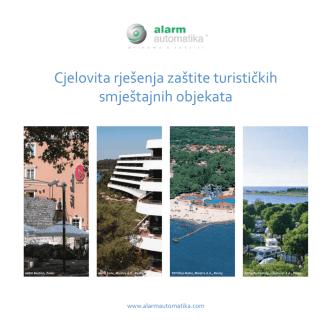 Cjelovita rješenja zaštite turističkih smještajnih