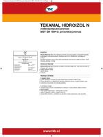 Tekamal Hidroizol N CRO