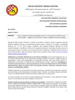 Poziv na obvezni dvodnevni trenerski seminar UHTH za 2013 godinu