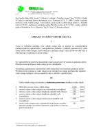 Odluka o cijeni vodnih usluga