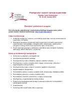 Obavijest i preliminarni program 3. hrvatske konferencije o