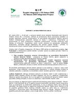 Zapisnik - Nacionalni park Sjeverni Velebit