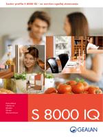 Sustav profila S 8000 IQ – za savršen ugođaj