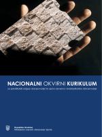 nacionalni okvirni kurikulum - Ministarstvo znanosti, obrazovanja i