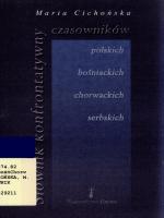 Słownik konfrontatywny czasowników polskich, bośniackich