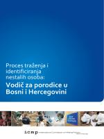 Vodič za porodice u Bosni i Hercegovini