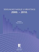 Seksualno nasilje u Hrvatskoj 2000. – 2010.