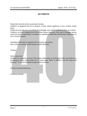 Bilten br.3 u pdf formatu. - KSC